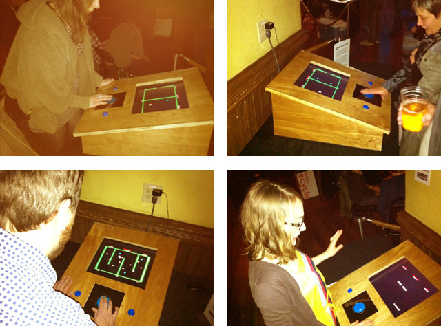 Ms. Particle-Man cabinet
